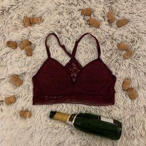 Victoria's Secret Crochet Lace Bralette